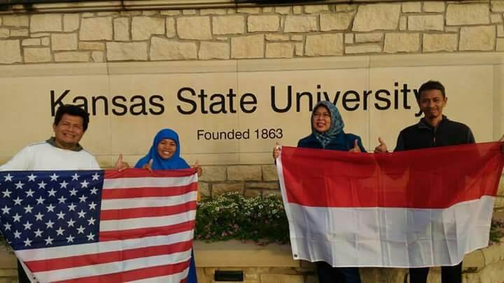 International Visiting Scholar to Kansas State University and 2017 MidTesol