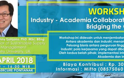 WORKSHOP Industry – Academia Collaboration : Bridging the Gap